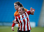 Katie Wilkinson of Sheffield Utd during the The FA Women's Championship match at the Proact Stadium, Chesterfield. Picture date: 8th December 2019. Picture credit should read: Simon Bellis/Sportimage