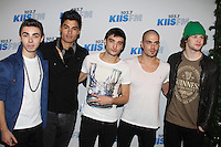 LOS ANGELES, CA - DECEMBER 03: The Wanted at day 2 of KIIS FM's 2012 Jingle Ball at Nokia Theatre L.A. Live on December 3, 2012 in Los Angeles, California. Credit: mpi21/MediaPunch inc. /NortePhoto ©/NortePhoto /NortePhoto© /NortePhoto /NortePhoto