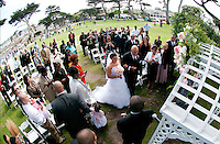 01 August 2010: Pictures at the wedding of Sabrina Rile and Michael Younger in Monterey, CA.