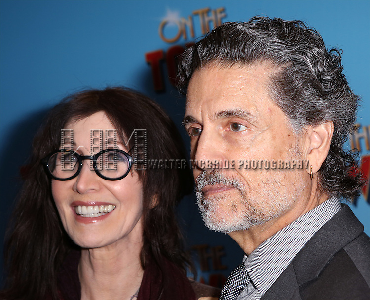 Joanna Gleason and Chris Sarandon attend the Broadway Opening Night Performance of 'On The Town'  at the Lyric Theatre on October 16, 2014 in New York City.