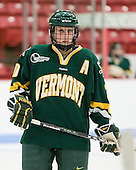 Lindsey Cashman (Vermont - 20) - The Boston University Terriers tied the visiting University of Vermont Catamounts 2-2 on Saturday, November 13, 2010, at Walter Brown Arena in Boston, Massachusetts.