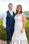 Sarah Pynt, daughter of Greg and Julie, from Australia, and Karl Duffy, son of Paul and Mary, from Dublin and Ballyferriter, who were married on Saturday in a civil ceremony at the Skellig Hotel in Dingle. Best Man was Brian Sherlock.