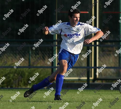 2008-07-23 / Voetbal / seizoen 2008 - 2009 / KSK Heist / Steven Goeleven..Foto: Maarten Straetemans (SMB)