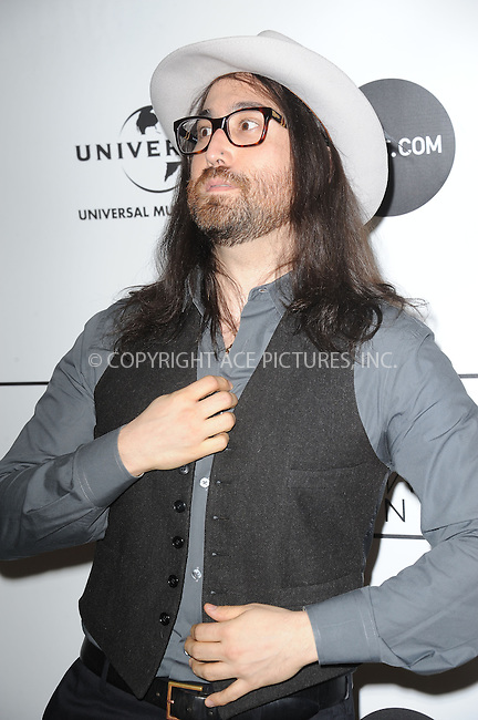 WWW.ACEPIXS.COM . . . . . .March 21, 2013...New York City....Sean Lennon attends the 2013 Amy Winehouse Foundation Inspiration Awards and Gala at The Waldorf  Astoria on March 21, 2013 in New York City ....Please byline: KRISTIN CALLAHAN - ACEPIXS.COM.. . . . . . ..Ace Pictures, Inc: ..tel: (212) 243 8787 or (646) 769 0430..e-mail: info@acepixs.com..web: http://www.acepixs.com .