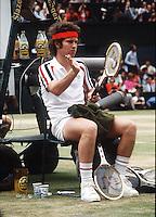 JOHN McENROE (USA)<br />WIMBLEDON 1981<br />PHOTO ROGER PARKER FOTOSPORTS INTERNATIONAL