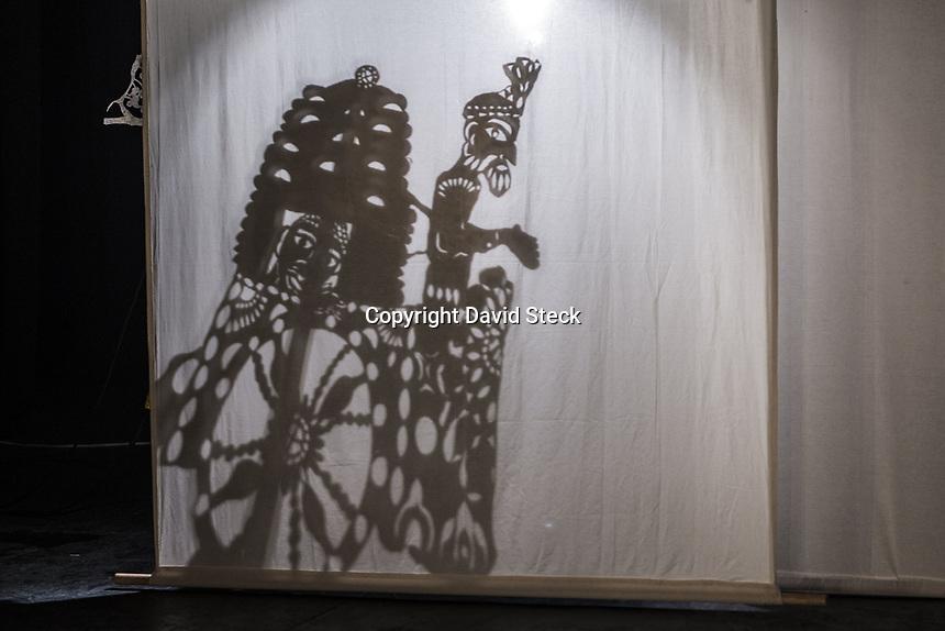 Quer&eacute;taro, Qro. 06 de Febrero de 2018.- Aspectos de &quot;Amrapali, el Mango, el Deseo y el Espiritu&quot;, obra interdisciplinaria de danza, m&uacute;sica en vivo y teatro de sombra presentada por la Compa&ntilde;&iacute;a Bamyan en el Foro de Usos Multiples del.Museo de la Ciudad.<br /> <br /> Esta obra &quot;..est&aacute; inspirada en la vida de Amrapali, famosa cortesana contempor&aacute;nea de Buda que encuentra la iluminaci&oacute;n y el gozo a trav&eacute;s del cuerpo en movimiento..&quot; y es protagonizada por Abril Gandhi en la danza, Jer&oacute;nimo Zoe en la parte musical, mientras que las marionetas de sombre est&aacute;n a cargo de Ra&uacute;l Ruiz, Diego Ugalde y Cecilia Navarro.<br /> <br />  <br />   <br /> Foto: David Steck