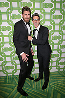 BEVERLY HILLS, CA - JANUARY 6: Rhett McLaughlin, Charles Neal III, at the HBO Post 2019 Golden Globe Party at Circa 55 in Beverly Hills, California on January 6, 2019. <br /> CAP/MPI/FS<br /> &copy;FS/MPI/Capital Pictures