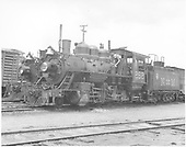 3/4 fireman's-side view of Nacionales de Mexico Consolidation #262.  Engine #73 is nearly hidden behind #262, just the smokebox is visible.<br /> Nacionales de Mexico