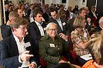 ZANDVOORT - GOLF -Jonathan Smith (l) , Demie Moore, Wageningen University. DTRF (Dutch Turfgrass Research Foundation)  congres. COPYRIGHT KOEN SUYK