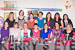 30TH BIRHDAY: Catherine Murphy, Cordal having a great time celebrating her 30th birthday with family and friends at Cassidy's restaurant, Tralee on Friday seated l-r: Mary Griffin, Maura Herlihy, Jennifer O'Connor, Aine Herlihy, Catherine Murphy, Aisling Barrett and Siobhan McGlynn-Brosnan. Back l-r: Margaret Kearney, Breda O'Dowd, Sheilanne Brosnan, Siobhan O'Donoghue, Suzanne Galvin and Marguerite Murphy.