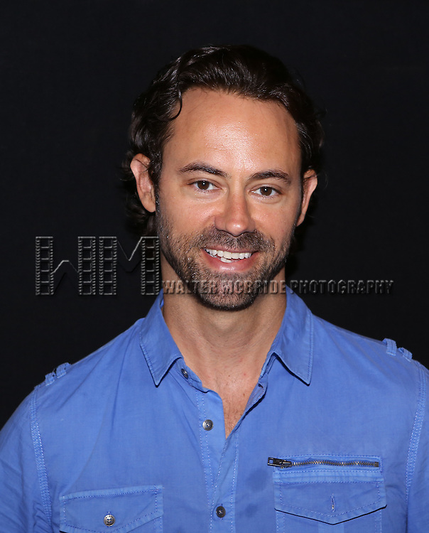 "James Wirt attend the ""Phoenix"" Cast Photo Call at their rehearsal studio on July 9, 2014 in New York City."