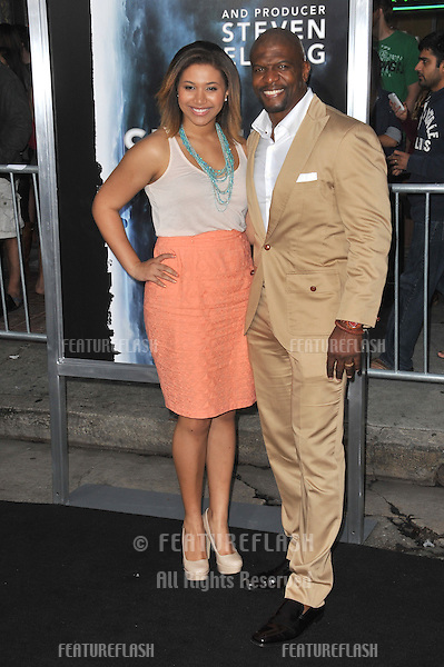 "Terry Crews & daughter at the Los Angeles premiere of ""Super 8"" at the Regency Village Theatre, Westwood..June 8, 2011  Los Angeles, CA.Picture: Paul Smith / Featureflash"