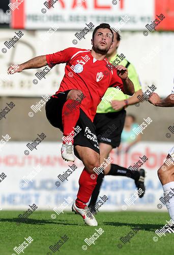 2012-09-16 / Voetbal / seizoen 2012-2013 / Lyra / Elio Balbi..Foto: Mpics.be