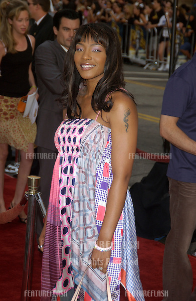 NONA GAYE at the world premiere of Lara Croft Tomb Raider: The Cradle of Life, at Grauman's Chinese Theatre, Hollywood..July 21, 2003