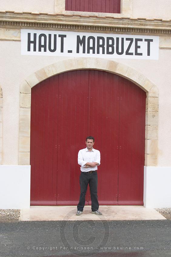 Bruno Duboscq. Chateau Haut Marbuzet, Saint Estephe, medoc, Bordeaux, France