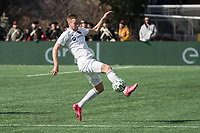 FOXBOROUGH, MA - MARCH 7: Robert Beric #27 of Chicago Fire receives a pass during a game between Chicago Fire and New England Revolution at Gillette Stadium on March 7, 2020 in Foxborough, Massachusetts.