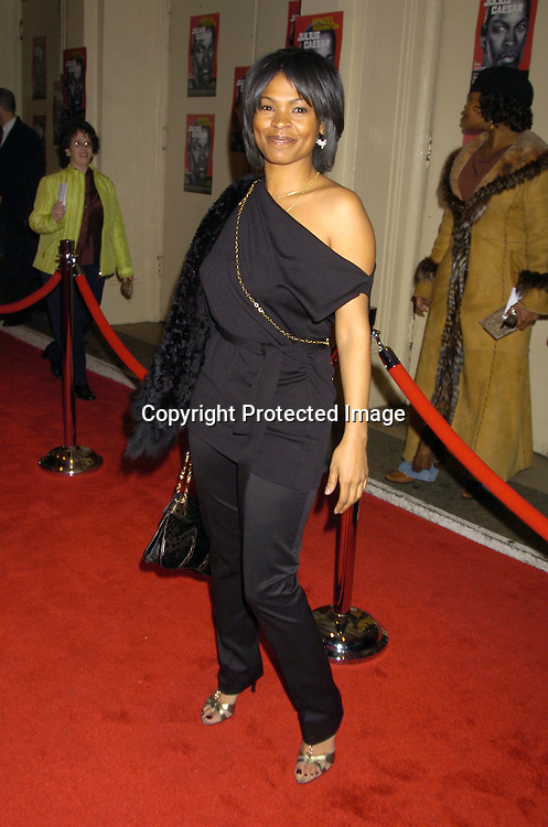 Nia Long ..at the Broadway Opening of Julius Caesar on April 3, 2005 at the Belasco Theatre. ..Photo by Robin Platzer, Twin Images