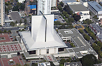 aerial photograph of the Cathedral of Saint Mary of the Assumption, 1111 Gough Street, San Francisco, California