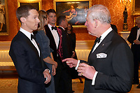 12 March 2019 - London, England - Josh Hartnett and Tamsin Egerton, Luke Evans, Benedict Cumberbatch with Prince Charles, Prince of Wales during a dinner to celebrate The Princes Trust at Buckingham Palace in London. The Prince of Wales, President, The Princes Trust Group hosted a  dinner for donors, supporters and ambassadors of Princes Trust International. Photo Credit: ALPR/AdMedia