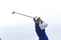 Paul Costello (Cregmore Park) on the 10th tee during the Final round in the Connacht U16 Boys Open 2018 at the Gort Golf Club, Gort, Galway, Ireland on Wednesday 8th August 2018.<br /> Picture: Thos Caffrey / Golffile<br /> <br /> All photo usage must carry mandatory copyright credit (&copy; Golffile   Thos Caffrey)