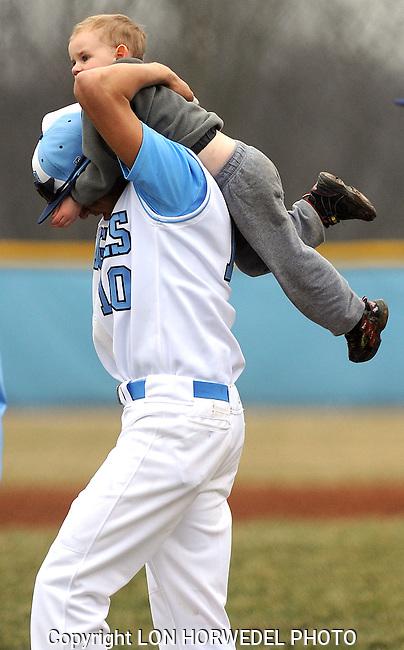 Skyline High School vs. Romulus High School, boy's varsity baseball at Skyline, Tuesday, April 9, 2013.Skyline High School vs. Romulus High School boy's varsity baseball at Skyline, Tuesday, April 9, 2013.