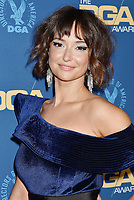 HOLLYWOOD, CA - FEBRUARY 02: Milana Vayntrub attends the 71st Annual Directors Guild Of America Awards at The Ray Dolby Ballroom at Hollywood & Highland Center on February 02, 2019 in Hollywood, California.<br /> CAP/ROT/TM<br /> ©TM/ROT/Capital Pictures