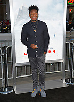 Dexter Darden at the premiere for &quot;Geostorm&quot; at TCL Chinese Theatre, Hollywood. Los Angeles, USA 16 October  2017<br /> Picture: Paul Smith/Featureflash/SilverHub 0208 004 5359 sales@silverhubmedia.com