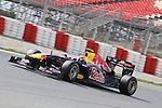 Formula1 ultimos entrenos en el circuit de catalunya antes de que empiece el campeonato