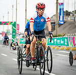 Lima, Peru -  1/September/2019 -   Michael Shetler competes in the mixed road race T1-2 at the Parapan Am Games in Lima, Peru. Photo: Dave Holland/Canadian Paralympic Committee.