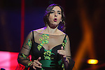 63 Premios Ondas.<br /> Gala de Entrega de los premios.<br /> Llum Barrera.