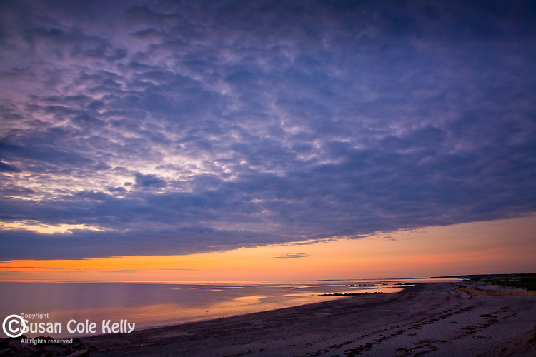 Sunrise at Town Neck Beach, Sandwich, Cape Cod, MA, USA