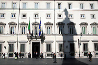 Roma: Palazzo Chigi, sede del Governo..Rome: Palazzo Chigi, the Italian Prime Ministry