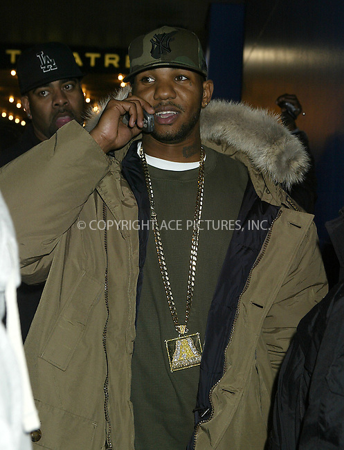 WWW.ACEPIXS.COM ** ** ** ....NEW YORK, JANUARY 19, 2005 ....Rap artist The Game seen leaving MTV studios after and appearance on TRL.....Please byline: Philip Vaughan -- ACE PICTURES... *** ***  ..Ace Pictures, Inc:  ..Alecsey Boldeskul (646) 267-6913 ..Philip Vaughan (646) 769-0430..e-mail: info@acepixs.com..web: http://www.acepixs.com