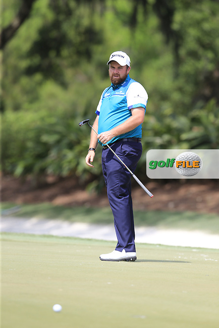 Shane Lowry (IRL) during practice for the Players, TPC Sawgrass, Championship Way, Ponte Vedra Beach, FL 32082, USA. 11/05/2016.<br /> Picture: Golffile | Fran Caffrey<br /> <br /> <br /> All photo usage must carry mandatory copyright credit (&copy; Golffile | Fran Caffrey)