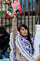 03.03.2015 - Protest Against The President of Mexico Enrique Peña Nieto