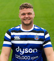 Jack Davies of Bath Rugby poses for a portrait. Bath Rugby Media Day on August 14, 2018 at Farleigh House in Bath, England. Photo by: Patrick Khachfe / Onside Images
