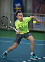 Rotterdam, The Netherlands, March 11, 2016,  TV Victoria, NOJK 12/16 years, Jesper de Jong (NED)<br /> Photo: Tennisimages/Henk Koster