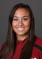 STANFORD, CA - OCTOBER 22:  Alyssa Lo of the Stanford Cardinal during water polo picture day on October 22, 2009 in Stanford, California.