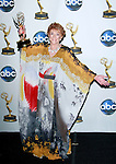 "Outstanding Lead Actress Jeanne Cooper from ""The Young and the Restless"" poses with her award at the 35th Annual Daytime Emmy Awards held at the Kodak Theatre in Los Angeles on June 20, 2008."