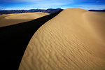 Sand Dunes, Ripples And Ridges In Death Valley National Park, California, USA