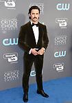 SANTA MONICA, CA - JANUARY 11: Actor Milo Ventimiglia attends The 23rd Annual Critics' Choice Awards at Barker Hangar on January 11, 2018 in Santa Monica, California.