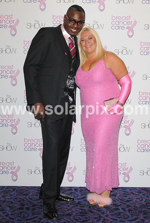 **ALL ROUND PICTURES FROM SOLARPIX.COM**.**WORLDWIDE SYNDICATION RIGHTS**.Arrivals at the Breast Cancer Care Show. Held at Grosvenor House Hotel, Park Lane, London, UK. 7 October 2009..This pic: Ben Ofedu and Vanessa Feltz..JOB REF: 10082 SSD     DATE: 07_10_2009.**MUST CREDIT SOLARPIX.COM OR DOUBLE FEE WILL BE CHARGED**.**MUST NOTIFY SOLARPIX OF ONLINE USAGE**.**CALL US ON: +34 952 811 768 or LOW RATE FROM UK 0844 617 7637**