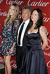 PALM SPRINGS, CA. - January 06: Actor Dustin Hoffman, daughter Alexandra Hoffman (L) and wife Lisa Hoffman (R) arrive at The 20th Anniversary of the Palm Springs International Film Festival Awards Gala at the Palm Springs Convention Center in on December 6, 2009 in Palm Springs, California.