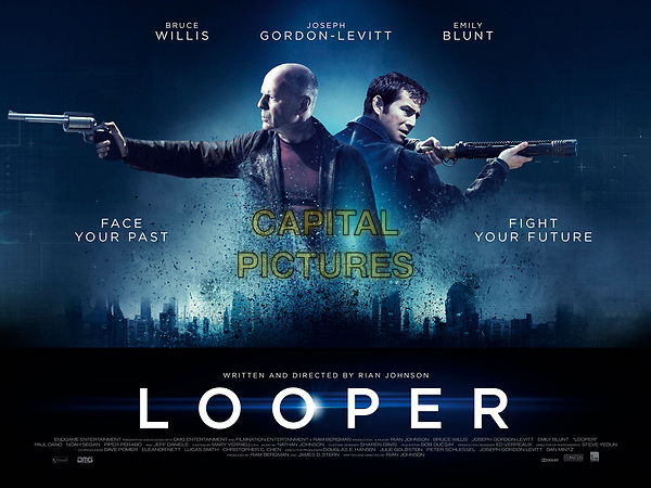 Looper (2012)<br /> Wallpaper<br /> *Filmstill - Editorial Use Only*<br /> CAP/KFS<br /> Image supplied by Capital Pictures
