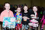 Helping out at Scoil Nuachabail NS on Sunday at their Cake Sale to raise founds for the school, l-r: Hazel Geary,Paddy Lucid,Helen and Rachel Allman.