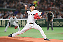 Kodai Senga (JPN), <br /> MARCH 15, 2017 - WBC : <br /> 2017 World Baseball Classic <br /> Second Round Pool E Game <br /> between Japan - Israel <br /> at Tokyo Dome in Tokyo, Japan. <br /> (Photo by YUTAKA/AFLO SPORT)