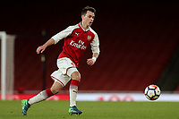 Robbie Burton of Arsenal in action during Arsenal Youth vs Blackpool Youth, FA Youth Cup Football at the Emirates Stadium on 16th April 2018