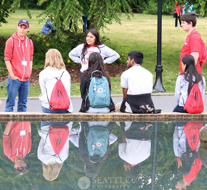 July 11th, 2017- Seattle University Summer Orientation 2017