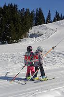 Skilift  auf dem S&ouml;llereck bei  Oberstdorf im Allg&auml;u, Bayern, Deutschland<br /> ski lift on Mt.  Sellereck  near Oberstdorf, Allg&auml;u, Bavaria, Germany
