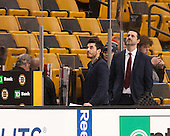 Rob Rassey (Harvard - Assistant Coach) played in the Beanpot for Northeastern. - The Boston College Eagles defeated the Harvard University Crimson 3-2 in the opening round of the Beanpot on Monday, February 1, 2016, at TD Garden in Boston, Massachusetts.
